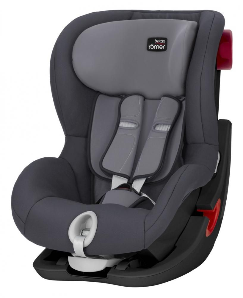 Автокресло Britax Römer King II Black Series Storm Grey Trendline в Семее