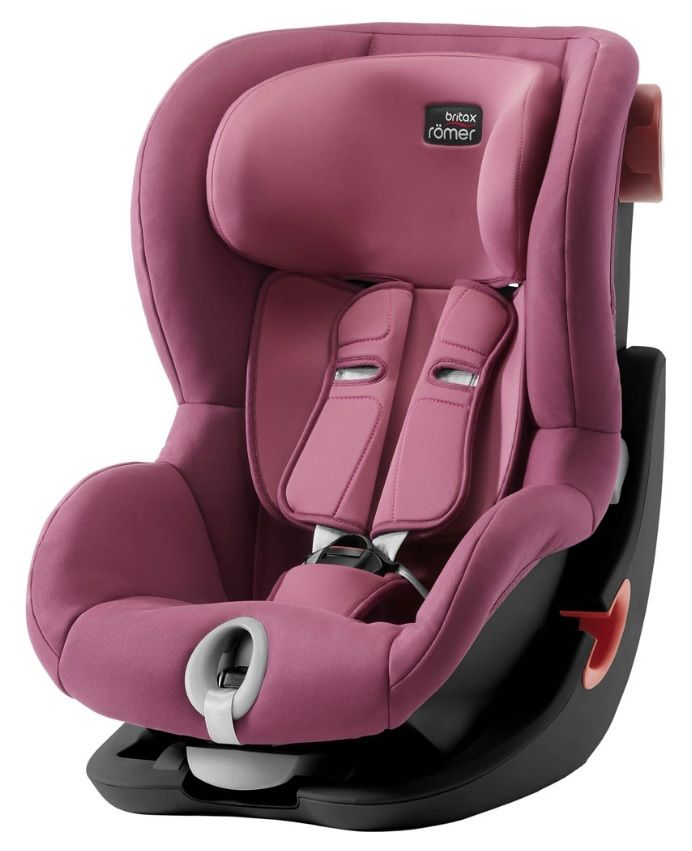 Автокресло Britax Römer King II Black Series Wine Rose Trendline в Семее