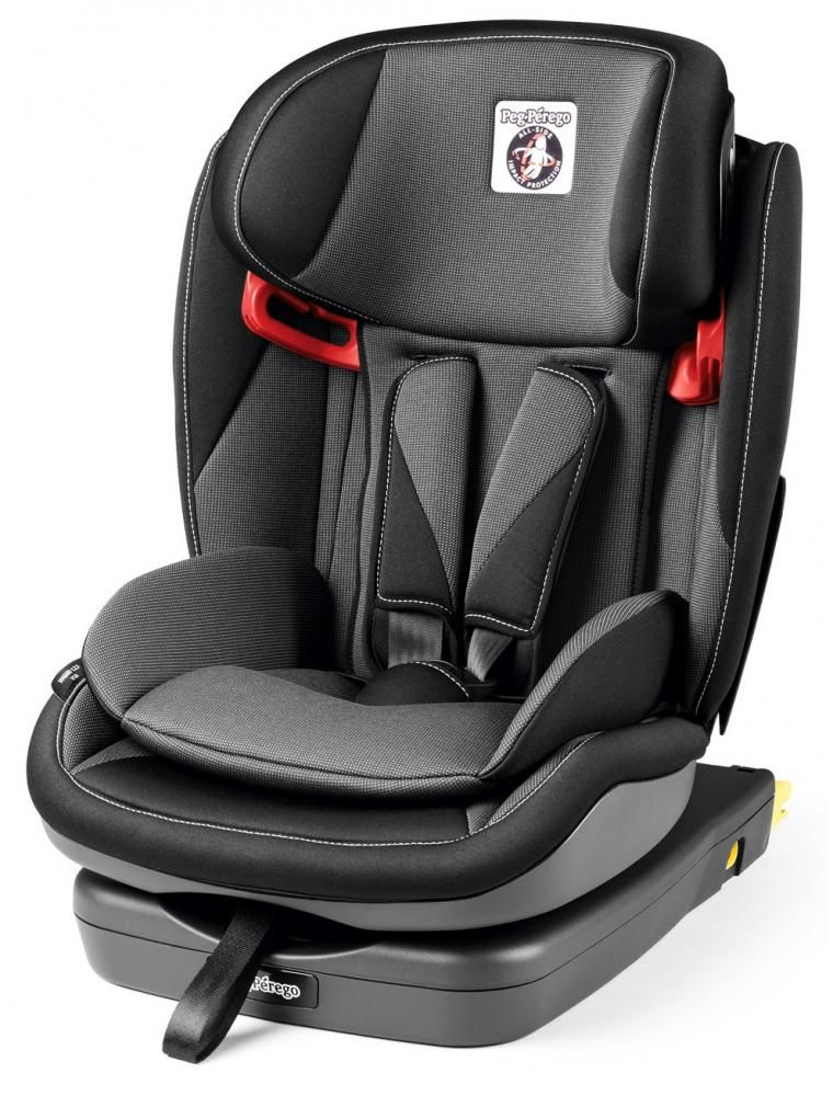 Автокресло Peg-Perego Viaggio 1-2-3 Via Crystal Black в Семее
